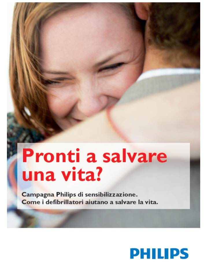 Philips - Pronti a salvare una vita?